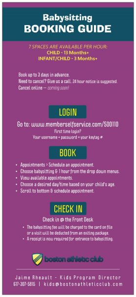 Babysitting Booking Guide